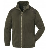 Pinewood Fleecejacke Retriever dunkeloliv/Wildlederbraun